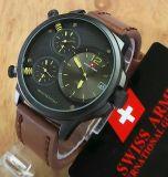 Harga Swiss Army Triple Time Sa 4175G Jam Tangan Pria Leather Strap Dark Brown Swiss Army Dki Jakarta