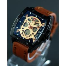 Spesifikasi Swiss Army Watch Sa7164 Jam Tangan Pria Tali Kulit Lengkap
