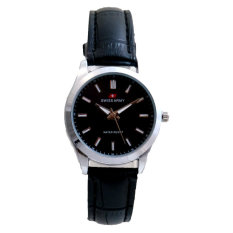 Jual Swiss Army Women S Jam Tangan Wanita Tw 1988 L Body Silver Hitam Leather Murah Indonesia