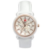Katalog Swiss Army Women S Sa2071Lwcr Jam Tangan Wanita White Leather Swiss Army Terbaru