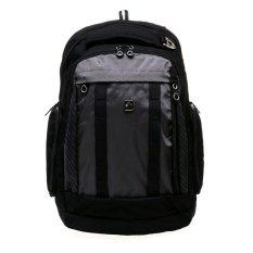 Diskon Swiss Gear Sa8032 Laptop Backpack Hitam Abu Abu Akhir Tahun