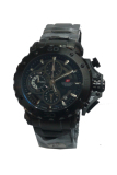 Jual Swiss Navy Crhonograph Jam Tangan Pria Hitam Stainless Steel Sn3250 Online Banten