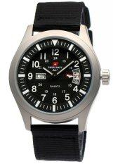 Top 10 Swiss Navy Sn 8802M Jam Tangan Pria Tali Kanvas Black Silver Online
