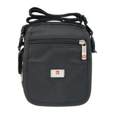 Katalog Swiss Polo 205 06 Sling Bag Black Tas Seelempang Kecil Tas Pria Tas Wanita Swiss Polo Terbaru