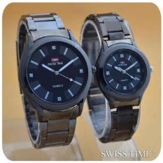 Harga Swiss Time Army Jam Tangan Couple Stainless Steel Sa 8371 Swiss Army