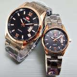 Toko Swiss Time Couple Stainless Steel Blackgold Hmd 1574 Cpl Terlengkap Dki Jakarta