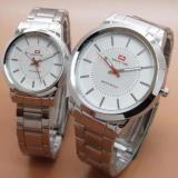 Dimana Beli Swiss Time Elegant Couple Silver Putih Swiss Time