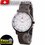 Diskon Swiss Time Ladies Elegant Silver Stainless Sa5108Rsii Branded