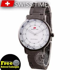 Beli Swiss Time Ladies Elegant Silver Stainless Sa5108Rsii Swiss Army
