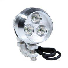 Sworld 15 W 1200LM Ultra Bright 3-LED Lampu Sorot Tahan Air untuk Mobil Truk Motor