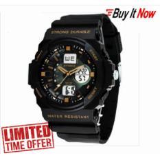 Spesifikasi Synoke 66866 Digital Perhiasan Olahraga Luar Ruangan Tahan Air 50 M Pria Jam Tangan Emas Beserta Harganya