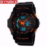 Harga Synoke 66866 Jam Tangan Pria Sport Analog Digital Silikon Pu 51 Mm Anti Air 50 M Renang Water Resistant Watches Synoke Online