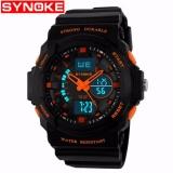Ongkos Kirim Synoke 66866 Jam Tangan Pria Sport Analog Digital Silikon Pu 51 Mm Anti Air 50 M Renang Water Resistant Watches Di Indonesia