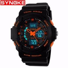 Beli Synoke 66866 Jam Tangan Pria Sport Analog Digital Silikon Pu 51 Mm Anti Air 50 M Renang Water Resistant Watches Cicilan