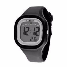 SYNOKE 66896 Jam Tangan Pria - Wanita Casual Sport Digital  Rubber 44 mm - Anti Air 50 M Renang - Water Resistant Watches