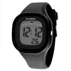 Harga Synoke 66896 Women Waterproof Sport Watch Cool Fashion Digital Jam Tangan Hitam Synoke Online