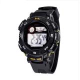 Diskon Synoke 89068 Sport Casual Watch Militer Watch Dengan Led Multifungsi Digital Jam Tangan 50 M Tahan Air Kuning Synoke