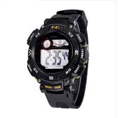 Spesifikasi Synoke 89068 Sport Casual Watch Militer Watch Dengan Led Multifungsi Digital Jam Tangan 50 M Tahan Air Kuning