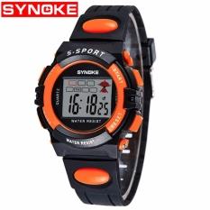 Review Synoke 99268 Fashion Kids Sport Watches Anak Siswa Led Jam Digital Internasional Terbaru
