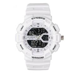 Diskon Synoke Terkenal Watch Jam Tangan Es Men Luxury Top Brand Led Digital Watch Jam Tangan Sport Elektronik Wrist Watch Jam Tangan 6508 Akhir Tahun