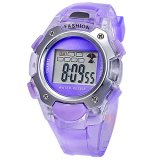 Harga Synoke Jam Tangan Anak Ungu Rubber Strap Digital Fashion Kids Watch New