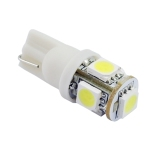 Jual T10 Smd 5 Led Mobil Side Wedge Lampu Bulb Lampu Putih Import