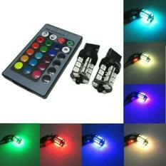 T20 7440 LAMPU MUNDUR / SEIN LED RGB ANEKA WARNA DENGAN REMOTE