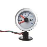 Spesifikasi Tachometer Tach Gauge Dengan Holder Cup Untuk Mobil Otomatis 2 52Mm 8000 Rpm Blue Light Intl Yg Baik