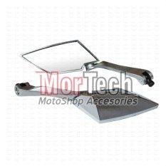 TAD Kaca Spion Sepion New Mega Pro Kozo Almini Silver