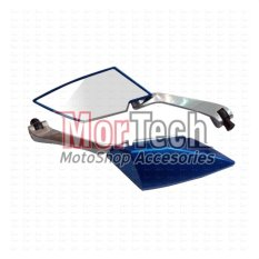 Beli Tad Kaca Spion Sepion Vario Fi 150 Cc Kozo Almini Biru Tad Asli