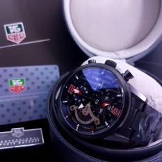 TagHeuer-Carrera RedBull Racing Black  / Jam Tangan Pria