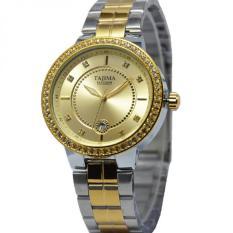 Spesifikasi Tajima Jam Tangan Wanita Strap Stainless Silver Gold Tj917Sg Terbaik