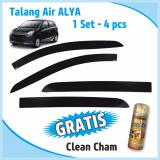 Review Talang Air Door Visor Ayla Injection Dny