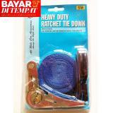 Harga Tali Pengikat Barang Lebar 1 Inc X Panjang ±5M Ratchet Tie Down Set Aslb