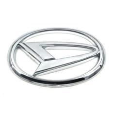 Tanpa Kaki - Aksesoris Mobil Daihatsu Emblem Logo Stir Mobil Metal Sticker Stiker Setir Daihatsu Xenia Gran Max Sigra Ayla Terios Luxio Sirion Hi-Max Asesoris Mobil Acesoris Mobil