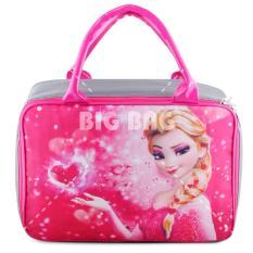Jual Beli Online Tas Anak Fashion Travel Bag Frozen Pinky Forever Pink Tas Travel Tas Anak Karakter