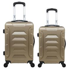Tas Koper Polo Twin - Fiber ABS 1 Set Size 20 & 24 Inch 6615 Gold