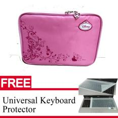 Tas Laptop 10 Inch Motif Kartun Netbook Case 10 Inch Gratis Keyboard Protector Terbaru