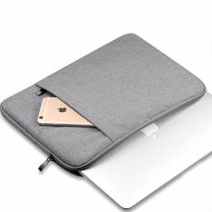 Tas Laptop Bag / Softcase  Macbook Sleeve Case Notebook 11 - 12 inch Nylon - Grey