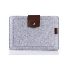 Jual Tas Laptop Softcase Cooltech Premium Wool Felt Pouch For Laptop 14Inch Grey Cooltech Branded