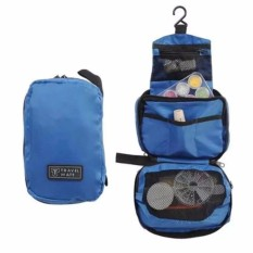 Tas peralatan mandi / Tas Kosmetik / Toilet Organizer Bag / Travel Mate Organizer (Random Warna)
