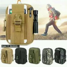Tas Pinggang HP Militer - Tactical Army Bag - Babamu - Random