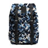 Beli Tas Punggung Backpack Ransel Rucksack Laptop 14 Inch Loreng Canvas Denim 14 Liter Pria Wanita Online