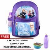 Beli Tas Ransel Anak Frozen Anna And Elsa Glorious Lavender Sch**l Bag Tas Sekolah Anak Purple Free Botol Minum Lunch Box Tas Anak Tas Sekolah Tas Anak Karakter Online Terpercaya