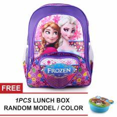 Beli Tas Ransel Anak Frozen Anna Elsa Soulmate Sch**l Bag Tas Sekolah Anak Purple Free Lunch Box Tas Anak Tas Sekolah Tas Anak Karakter Tas Mania Murah