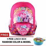 Top 10 Tas Ransel Anak Little Pony Birthday Girls Sch**l Bag Tas Sekolah Anak Pink Free Lunch Box Online