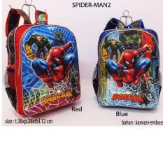 Harga Tas Ransel Anak Spiderman Motif Timbul Baru