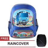 Tas Ransel Anak Tayo The Little Bus Sch**l Day Sch**l Bag Tas Sekolah Anak Blue Free Raincover Tas Mania Diskon 40