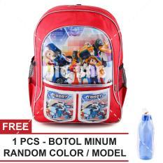 Beli Tas Ransel Anak Tobot Adventure Series Catch Future Sch**l Bag Tas Sekolah Anak Free Botol Minum Random Color Model Online