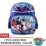 Beli Tas Ransel Anak Ultramen Superrior Sch**L Bag Tas Sekolah Anak Blue Free Lunch Box Random Model Color Kredit Jawa Barat